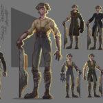 Shield Project Main Character Sheet