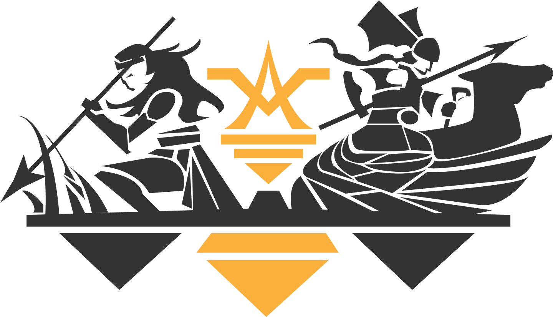 Themyscira Challenge Logo original 2018 Full Logo Black