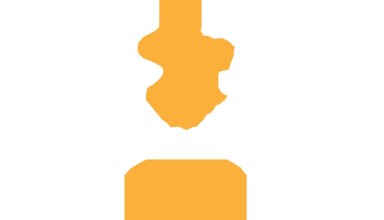 Themyscira Challenge Logo original 2018 Full White Logo