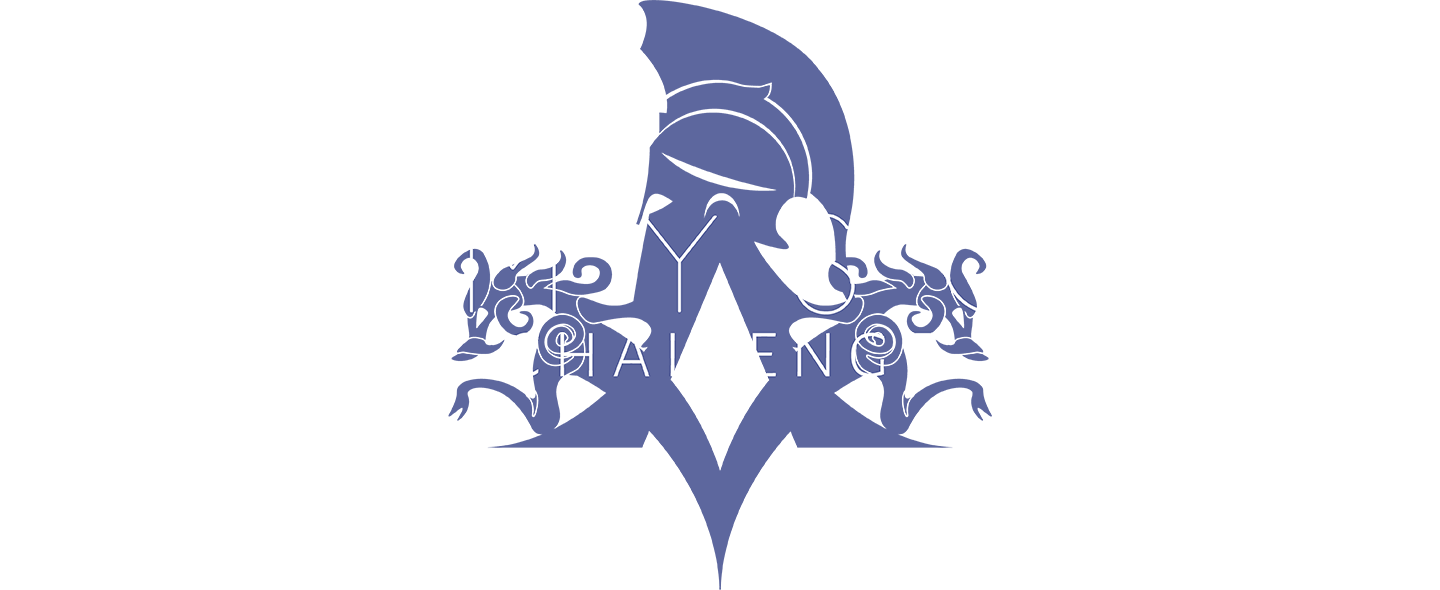 Themyscira Challenge Logo with Text #4