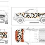 Shark Teeth Truck Design