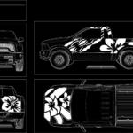Decal Flower Truck Designs #3